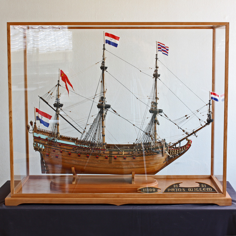 Showcase for a Sailing ship model