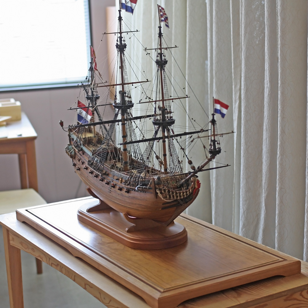 Sailing ship model Display Stand