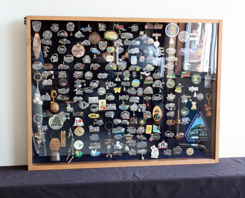 ( Mountain Achievement ) Badge Display Case